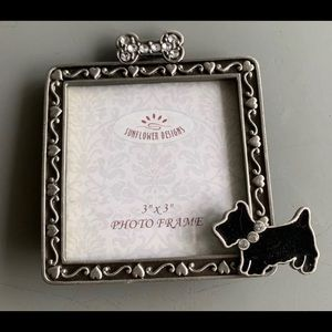 NWOT Dog 3x3 Photo Frame